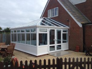 Conservatory extension 2